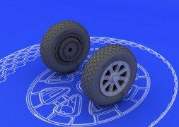 Eduard Brassin F6F wheels 1:48