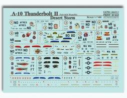 Print Scale A-10 Thunderbolt II - Desert Storm 1:144
