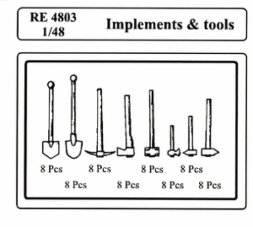 Implements & Tools 1:48