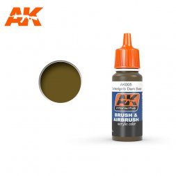 AK Interactive AK005 - Dunkelgelb Dark Base - 17ml