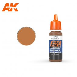 AK Interactive AK706 - Light Rust - 17ml