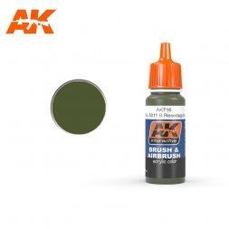 AK Interactive AK716 - RAL6011B Resedagrün - 17ml