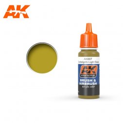 AK Interactive AK007 - Dunkelgelb Light Base - 17ml