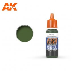 AK Interactive AK172 - Olivgrün Base - 17ml
