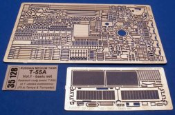 ABER T-55A basic set Vol.1 for Tamiya, Trumpeter 1:35