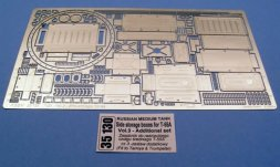 T-55A Side storage boxes for Tamiya, Trumpeter 1:35