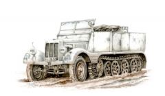 Special Armour Sd.Kfz 11 Leichter Zugkraftwagen 3t 1:72