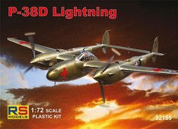 RS Models P-38D Lightning 1:72