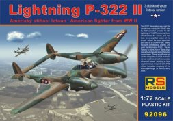 RS Models Lightning P-322 II 1:72