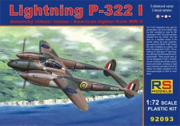RS Models Lightning P-322 I 1:72