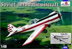Amodel Yakovlev Yak-53 Soviet aerobatic aircraft 1:48