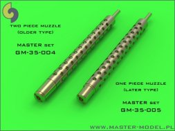 Master Browning M1919 .30 cal MG barrels (one) 1:35