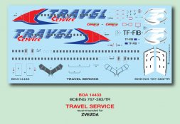 Boeing 767-300 - Travel Service 1:144