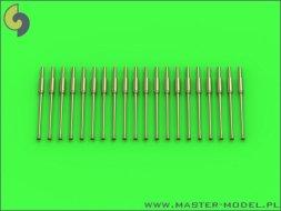 Master Bofors 40 mm – air-cooled gun barrels (20pcs) 1:350