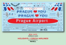 Airbus A320 - Holidays / Czech Airlines 1:144