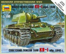 Zvezda KV-1 mod. 1940 1:100
