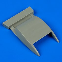 Bf 109G-6 correct oil radiator for Revell 1:32