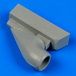 Bf 109G-6 correct air intake for Revell 1:32