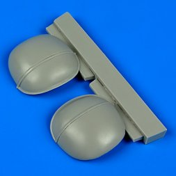 Bf 109G-6 correct gun bulges for Revell 1:32