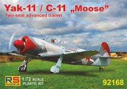 Yak-11 / C-11 Moose Part.2 1:72