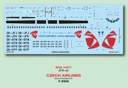ATR-42 - CZECH AIRLINES 1:144