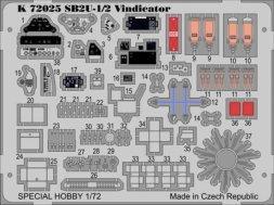 MPM SB2U-1/2 Vindicator P.E. 1:72