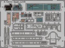 Saab J-21R/ A-21R P.E. set für Special Hobby 1:72