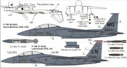 F-15E Freedom Eagles 1:72