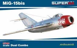Eduard MiG-15bis Dual Combo 1:144