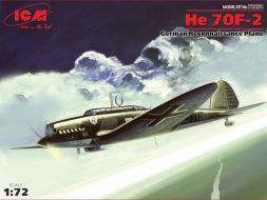 Heinkel He 70F-2 German Reconnaissance Plane 1:72