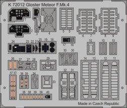 MPM Gloster Meteor Mk.4 P.E. 1:72