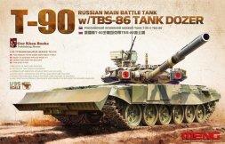 Meng T-90 w/ TBS-86 Tank Dozer 1:35