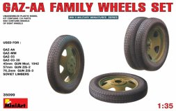 Gaz-AA Family Wheels set 1:35
