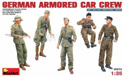 MiniArt German Armored Car Crew WW.II 1:35