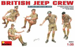 British Jeep Crew WW.II 1:35