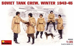 MiniArt Soviet Tank Crew. Winter 1943-1945 1:35