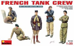French Tank Crew WW.II 1:35