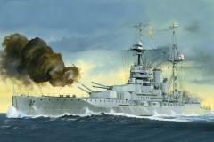 Trumpeter HMS Queen Elizabeth 1918 1:700