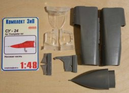 Komplekt ZiP Su-24 corrected nose for Trumpeter 1:48