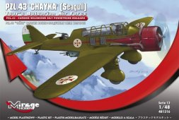 PZL.43 Chayka Bulgaria Air Force 1:48
