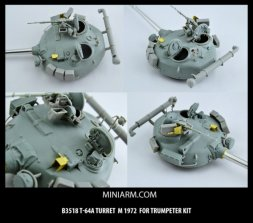 Miniarm T-64A mod. 1972 Turret for Trumpeter 1:35