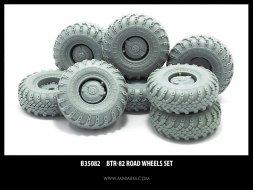 BTR-82 wheels set 1:35