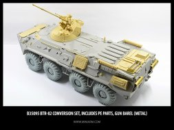 BTR-82A Conversion set for Trumpeter 1:35