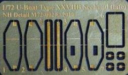 NH Detail U-Boat Type XXVIIB (late) Detail Set for ICM/Rev. 1:72