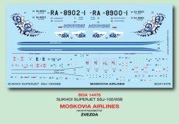 Suchoi Superjet 100-95B - Moskovia Airlines 1:144