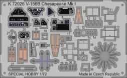 MPM V-156B Chesapeake Mk.I  p. e. detail set 1:72