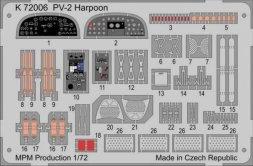 MPM PV-2 Harpoon p. e. detail set 1:72