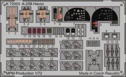 MPM A-20B Havoc P.E. 1:72
