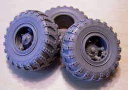 Komplekt ZiP KrAZ Wheels VI-3 for Roden 1:35