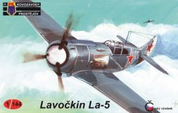 KP Lavochkin La-5 Soviet Aces 1:144